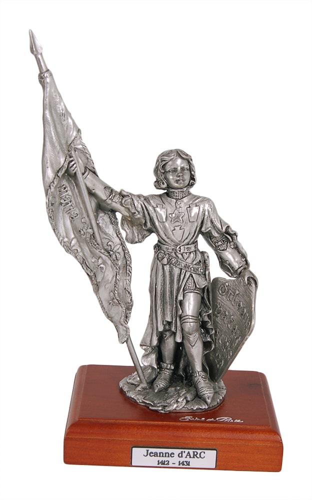 Подарок Оловянная статуэтка Жанна д'Арк