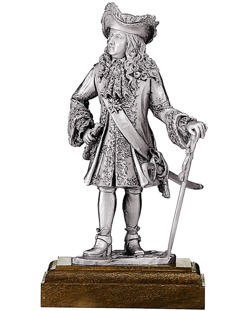 Подарок Оловянная статуэтка короля Людовика XIV