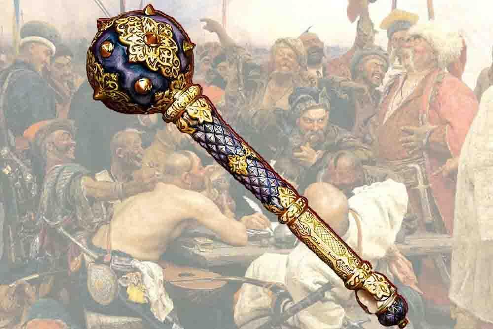 Фото категории Лучшие украинские булавы с тризубом