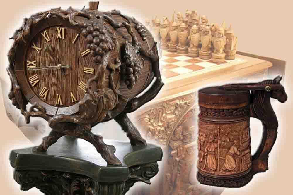 Фото категории Изделия из дерева в украинском стиле