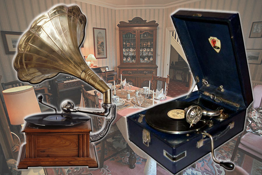 Фото категории Купить патефон советский и раритетный граммофон
