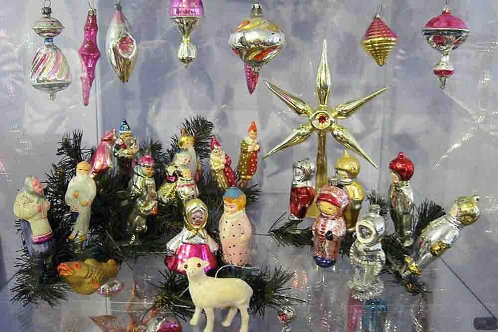 Фото категории Советские елочные игрушки
