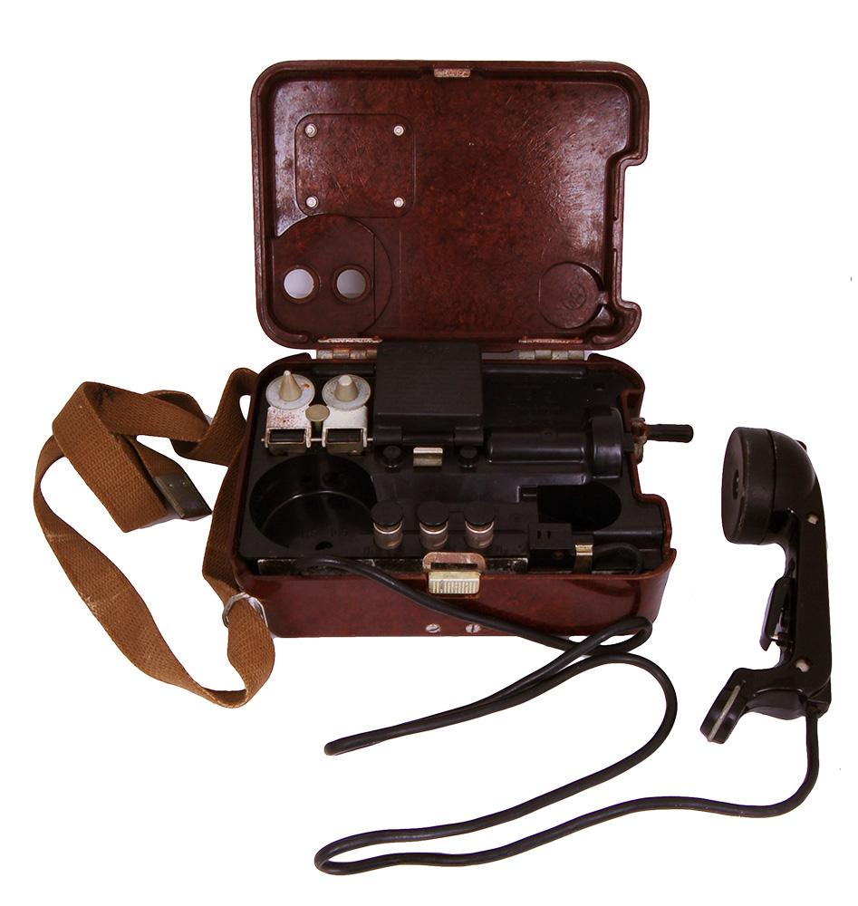 Полевой телефон ТА - 57, полевой телефон.