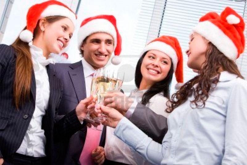 Развлечения на корпоративном новом годе